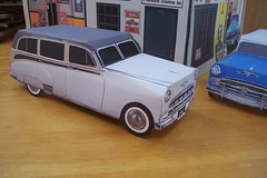 Paper craft 1952 Chevy station wagon (official inspection station) Tags: chevrolet car paper dodge stationwagon papercraft papertoy papercar papercraftchevrolet papercraftoldcar papercraftchevy paprcraftdodge