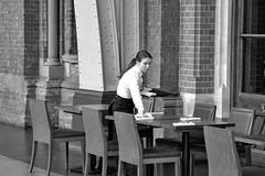 Silver Service (daliscar1) Tags: st table waiting service waitress setting pancras searcys