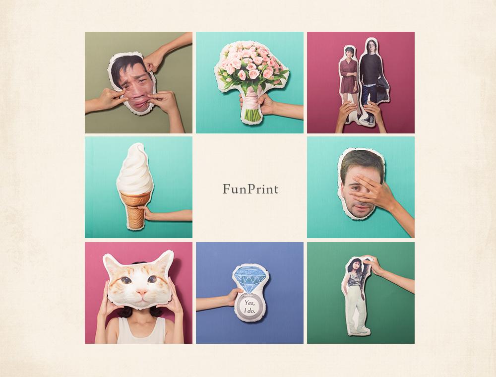 FunPrint抱枕 商品攝影