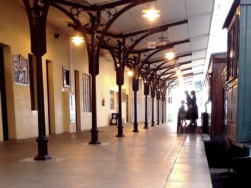 At Curitiba (Railroad Museum)