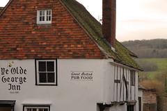 """ye Olde George Inn"" (Adam Swaine) Tags: uk england english kent village britain villages pubs inns shoreham 2015 swaine darent britishinns"