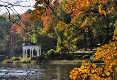 I'll be there (Lojones13) Tags: foliage tree building gazebo serene nature park yonkers new york newyork tibbetsbrookpark