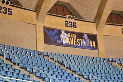 WVU Coliseum Morgantown, WV (Dinotography24) Tags: wvu coliseum morgantown wv westvirginia jerry west 44 mountaineers halloffame basketball