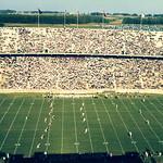 Carter-Finley Stadium, dedication day; October 8, 1966