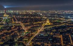 Paris (aurlien.leroch) Tags: france paris toureiffel eiffeltower invalides arcdetriomphe montparnasse tour skyline gold cityscape hdr