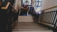 Library stairs. (Maenette1) Tags: spiespubliclibrary stairs menominee uppermichigan saturdayforstairs flicker365