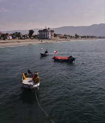From The Pier (Ctuna8162) Tags: mejillones chile boats customshouse