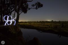 River camp (MISHKA Vision - Light Graffer) Tags: australie australia lightpainting lightgraff longexposure expositionlongue nightphotography roadtrip