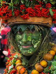 Green Man (ahuntley2) Tags: travelphotography greenman harvest harvestfestival boroughmarket london pagan england