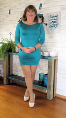 Tight (Trixy Deans) Tags: tgirl tv transgendered transvestite tranny tgirls xdresser sexy sexytransvestite sexyheels sexylegs cute dress dresses crossdresser crossdress elegant feminine legs longskirt minidress hot heels highheels heelssexy