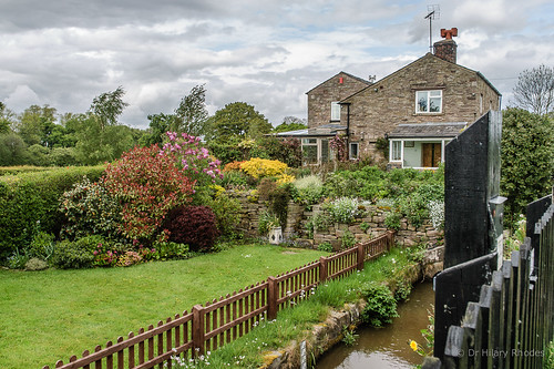 Bosley Top Lock cottage and garden