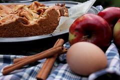 IMG_8514_bewerkt small (Johanneke te Lindert Fotografie) Tags: food eten apple pie egg cinnamon appeltaart ei kaneel landelijk taart gebak pastry