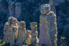 rising from the shadows (jimmy_racoon) Tags: 70200 f4l is canon 5d mk2 chiricauhua mountains chiricahua arizona desert geology landscape rhyolite rock volcanic 70200f4lis canon5dmk2 chiricauhuamountains