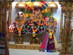 Radha Krishna Dev Sandhya Darshan on Wed 19 Oct 2016 (bhujmandir) Tags: radha krishna dev lord maharaj swaminarayan hari bhagvan bhagwan bhuj mandir temple daily darshan swami narayan sandhya