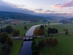 Chatsworth Sunrise (milo42) Tags: peak district national park httpwwwchrisnewhamphotographycouk sunrise chatsworth 2016 drone chatsworthpark peakdistrictnationalpark peakdistrict derbyshiredalesdistrict england unitedkingdom gb