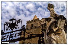 161021_120431.jpg (Snappist) Tags: statue pope bishop religious cathedral sicily