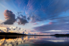 Lime Lake Sky Beauty (matthewkaz) Tags: sky clouds sunset limelake lake water reflection reflections leelanau maplecity cedar michigan summer 2016