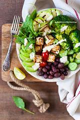Buddha Bowl (AlenaKogotkova) Tags: buddhabowl vegan food foodphoto foodstyling vegetarian vegetables healthyfood healthyeating fresh broccoli avocado tofu olives recipe veganrecipe