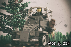 Sdk_fz_223 (kr1minal) Tags: lego moc wwi world war 2 nazi german tank brickmania sdk