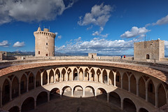 Bellver Castle (Dmitriy Sakharov) Tags: bellver castle mallorca spain palma de balearic islands architecture