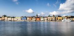 Skyline Stoccolma (ettorelomb) Tags: skyline stoccolma sweden longexposure sky sea landscape colors
