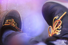 16 (zakchalmers) Tags: canon eos t2i lace shoe boot ny overlay