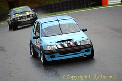 NHMC Cadwell Stages Rally 2016_0053_25-11-2016 (ladythorpe2) Tags: north humberside mc cadwell stages rally 2016 20th november 58 ivan chafer ecmc terry dolphin peugeot 205