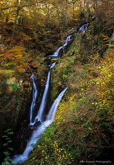Fall (alexwatphoto) Tags: autumn fall falls water waterfall waterfalls trees colour colours long exposure ambleside lake district national park