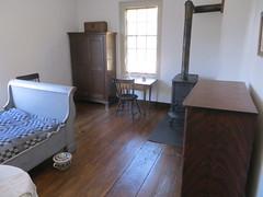 Small bedroom (Joel Abroad) Tags: oldsalem northcarolina johnvogler silversmith watchmaker house workshop bedroom