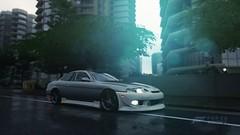 Forza54 () Tags: lexus sc300 drift missile japan forza horizon 3 sunset dusk dawn rain city
