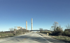 Pawnee, 2016 (gregorywass) Tags: dominion kincaid generation power plant coal energy illinois pawnee christian county smokestack generating station fine particle pollution road