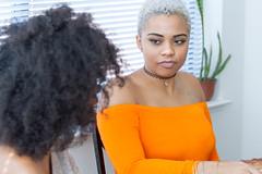 IMG_6194 (sabrinafvholder) Tags: women black african american natural hair ors commercial tea drinking girlfriends