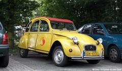 Citroën 2CV 1987 (XBXG) Tags: sn43zx citroën 2cv 1987 citroën2cv 2cv6 2pk eend geit deuche deudeuche haarlem nederland holland netherlands paysbas vintage old classic french car auto automobile voiture ancienne française france frankrijk vehicle outdoor