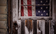 stars and bars (jtr27) Tags: dsc02781e jtr27 sony alpha nex7 nex emount sigma 60mm f28 dn dna dnart sigmaart abandoned maine decay entropy wabisabi us flag newengland