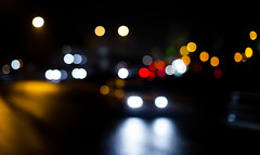 Night ride (Antti Tassberg) Tags: 50mm bokeh dark dof lens liikenne lowlight night nightscape oof prime road tie traffic y espoo uusimaa finland