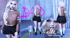 Post 212: Fashion is my 2nd favorite F-word (runwaydivas1) Tags: emery verzov littlebones foxy friday zoom badunicorn catwa maitreya slink emarie letre