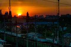 DSC_7526 (sergeysemendyaev) Tags: 2016 russia krasnodar autumn fall     landscape scenery sunset   dusk sun  city
