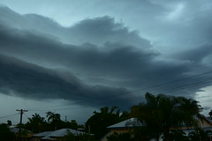 November hail storms (Images by Jeff - from the sea) Tags: nikon d7200 dusk twilight palmtrees sky storm clouds tamronsp2470mmf28divcusd hail lightning 500v20f