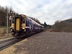 Tyndrum Lower - 03-12-2016 (agcthoms) Tags: scotland stirlingshire tyndrum tyndrumlower station railways trains scotrail class156 156456