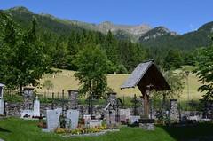 A small, peaceful Alpine Cemetery (presbi) Tags: panorama mountains cemetery montagne landscape dolomites dolomiti cimitero valdinon ruby10 ruby20