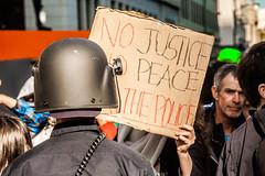 Oakland 2010 (Thomas Hawk) Tags: california usa oakland riot unitedstates unitedstatesofamerica protest eastbay riots oscargrant oaklandriots johannesmersehle oaklandca070810 oaklandriots2010