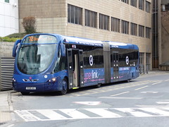 First Leeds - YK06 AUL (BigbusDutz) Tags: leeds first wright streetcar aul yk06