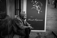 Neurotic Calm (scarlat_cristy) Tags: autumn urban reflection window smile de homeless calm dirty vede rosiori rosioridevede