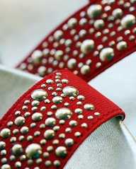 Macro Mondays: Personal Footwear - Ruby Slippers (Fiona Dawkins) Tags: sparkles heels rubyslippers macromondays personalfootwear