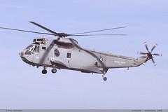 SEAKING AEW Mk2A XZ707 184 Koksijde septembre 2005 (paulschaller67) Tags: 2005 septembre aew 184 seaking koksijde mk2a xz707