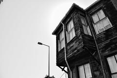 Istanbul old city (Burak Sezer) Tags: street camera monochrome architecture streetphotography istanbul oldbuilding