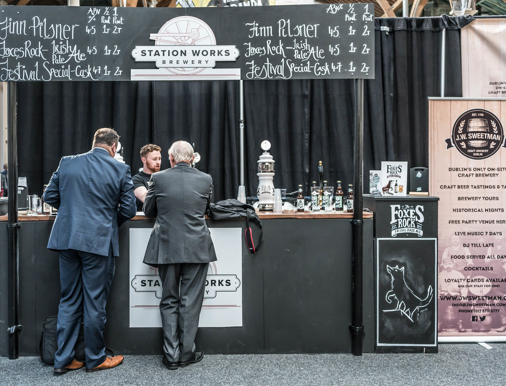 IRISH CRAFT BEER FESTIVAL IN THE RDS LAST WEEKEND IN AUGUST 2015 [Station Works Brewery] REF-107285