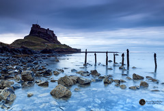 Lindisfarne Castle, Holy Island, UK (annabulka) Tags: world show uk greatbritain trip travel blue light wild england color colour castle art texture love tourism nature beautiful rock stone contrast dark landscape photography photo amazing nice travels flickr shot natural expression wildlife tourist best sensual hour lonelyplanet bluehour colourful tradition capture beautifull turist colourfull expresion darck darkstyler mywinners nationalgeografic anawesomeshot colorphotoaward colourartaward colorfullaward annabulka studio999 studio999art studio999travel annamarijabulka