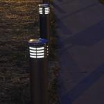 Solar LED bollards at Linc/Wash