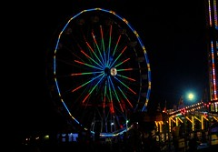 Walworth County Fair (Cragin Spring) Tags: summer usa wisconsin night rural lights midwest unitedstates unitedstatesofamerica fair ferriswheel rides countyfair wi elkhorn 2015 walworthcountyfair elkhornwi walworthcounty elkhornwisconsin